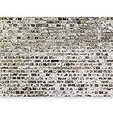 murando - Fototapete selbstklebend 490x280 cm decor Tapeten Wandtapete klebend Klebefolie Dekofolie Tapetenfolie - Textur Ziegel Mauer Beton f-A-0457-a-a