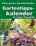 Abreißkalender Gartentipps 2018