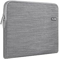 PLEMO Sleeve Case per Laptop/ Borsa per PC Portatili/ Custodia Morbide/ Ventiquattrore Cartella Involucro per Notebook/ MacBook/ MacBook Pro Tessuto Denim da 13-13.3 Pollici, Grigio - Cartella Pouch