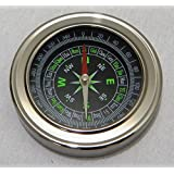 Stainless Steel Directional Magnetic Compass Cum Kids Learning Resource (Black)