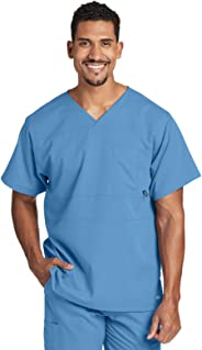 Barco Men's Grey'S Anatomy Active 0116 V-Neck Scrub Top