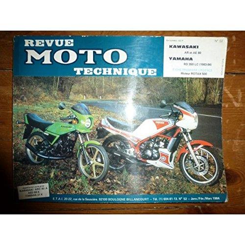 Rmt- Revues Techniques Moto - AR80 AR80 RD350LC Revue Technique moto Kawasaki Yamaha Etat - Bon Etat