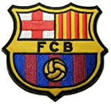 Fc Barcelona Fußball Soccer Futbol Iron on Patch Emblem Logo Applikation