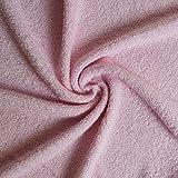 Frottier rosa-Qualität (Meterware)
