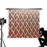 KateHome PHOTOSTUDIOS Kate Photo Fond Fleurs Fond d'écran Toile de Fond pour La Photographie Microfibre Pas de Rêve De Mariage Photocall Studio Fond 10x6.5ft / 3x2 m