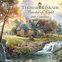 Thomas Kinkade Painter of Light 2017 Mini Wall Calendar by Thomas Kinkade (2016-06-07)