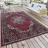 Paco Home In- & Outdoor Teppich Modern Vintage Look Terrassen Teppich Wetterfest Bunt, Grösse:240x340 cm