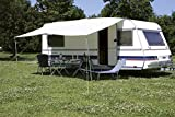 Euro Trail Sonnendach Basic 400x240cm für Wohnwagen Sonnenvordach (grau)