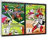 Kinder Spar-Set - Fußballspiel der Tiere / ...noch mehr Dalmatiner / Die Bremer Stadtmusikanten / Der gestiefelte Kater [2 DVDs]