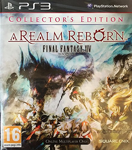 FINAL FANTASY XIV ONLINE - A REALM REBORN - COLLECTOR'S EDITION - PS3