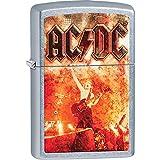 US Gifts Zippo AC/DC Straße Chrom Feuerzeug