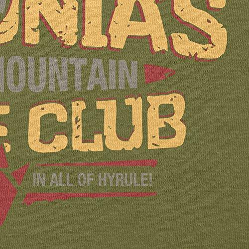 TEXLAB - Death Mountain Dance Club - Herren T-Shirt Oliv