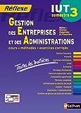 Gestion des Entreprises et des Administrations – S3 - Option CF - Toutes les matières