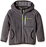 VAUDE Kinder Katmaki Fleece Jacket, Grey-Melange, 104, 05635