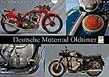 Deutsche Motorrad Oldtimer (Wandkalender 2017 DIN A4 quer): Mechanische Legenden (Monatskalender, 14...