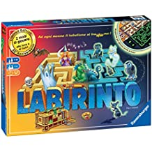 Ravensburger Labirinto Glow in the Dark Niños y adultos Viajes/aventuras - Juego de tablero (Viajes/aventuras, Niños y adultos, 20 min, 30 min, Niño/niña, 7 año(s))