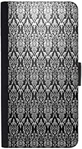 Snoogg Abstract Grey Pattern 1 Designer Protective Phone Flip Back Case Cover For Xiaomi Redmi Note 3