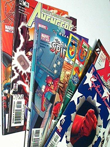 8 Stück diverse Original US Marvel Comic-Hefte , ERSTAUSGABEN , Set Sammlung Konvolut Paket