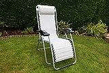 Leisurewize Birley sdraio reclinabile sedia da campeggio lusso