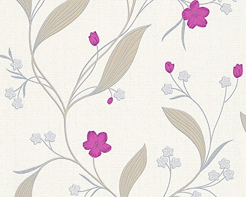 A.S. Création Papiertapete NEW ORLEANS - beige metallic - 10 Meter - 1 Rolle