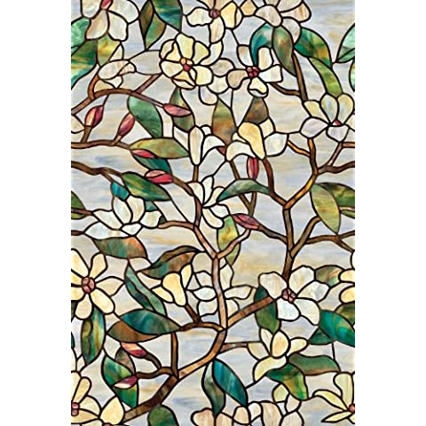 Artscape 61 x 92 cm  Película magnolia de verano para ventanas
