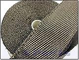 X-Parts PRO Serie 15m x 5cm Titan Hitzeschutzband Auspuff Band Lava Lawa NEU