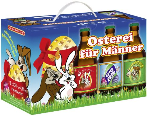 Osterei für Männer - Das ideale Geschenk zu Ostern für den Freund, Mann, Opa usw.