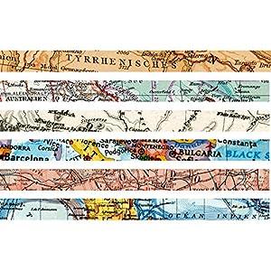 map Tape Set estrecho–60m Masking Tape, 15mm de ancho