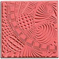 efco 9500504 Texturmatte, Naturkautschuk, 9 x 9 x 0,3 cm, braun