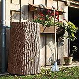 Regenspeicher Evergreen 475 Liter hellbraun im Garten