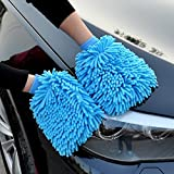 #10: FastUnbox House Cleaning and Car Wash Mitts,Home Dusting Microfiber Gloves, Washing Clean Polish Faster (Set Of 5)