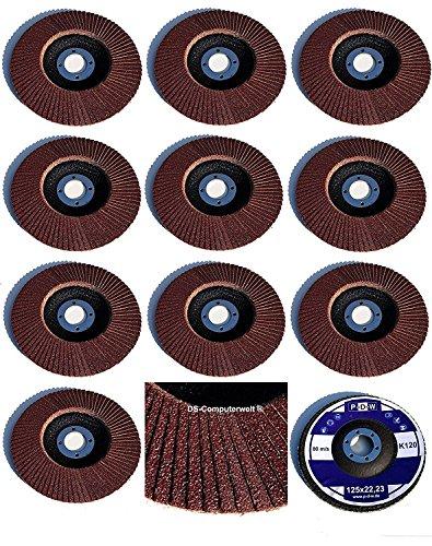 10estándar Disco de láminas (125mm de diámetro x 22,23mm, gra