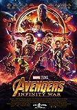 Affiche Cinéma Originale Grand Format - Avengers : Infinity War (format 120 x 160 cm pliée)