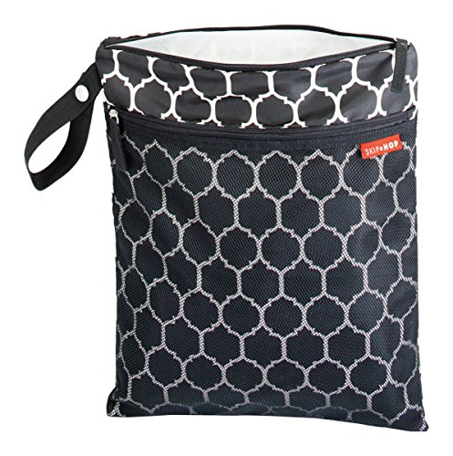 skip-hop-205005-grab-and-go-wet-dry-bag-onyx-tile