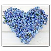 Ceranfeldabdeckung Herdabdeckplatten Spritzschutz Glas Blumen Rot Herz 60x52 cm