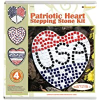 Mosaico pietra miliare cuore patriottico-Kit