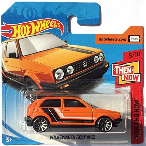 HotWheels FJX92 - Volkswagen Golf Mk2 naranja (Then and now 5/10)