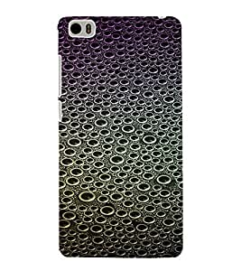 PrintVisa Bubbles Pattern 3D Hard Polycarbonate Designer Back Case Cover for Xiaomi Redmi Mi5