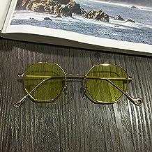 Sunyan Sonnenbrille, unregelmäßige Spiegel, Bein, Bein, Multi Line Sonnenbrillen, Straße, und Filmstars mit der gleichen Art von metallrahmen Gläser, Porno
