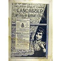 Materiale Finestra-Cieco del Panno di Lancaster di 1887 Annunci