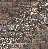 Fine Décor fd41955Loft brick Tapete, braun