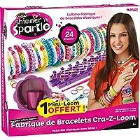 Cra-Z-art - KKCZL01N - Cra-Z-Loom Bracelets Maker – Fabrique de Bracelets + 600 Elastiques