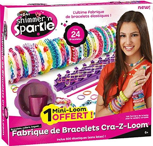 Preisvergleich Produktbild Cra-Z-Art 33190 - Loom Bracelet Maker, Komplett-Set für 24 Armbänder