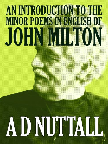 an-introduction-to-the-minor-poems-in-english-of-john-milton-english-edition