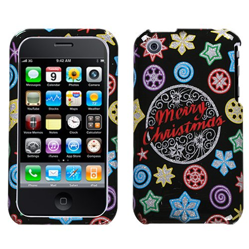 Xmas Light (Sparkle) Telefon Faceplate Cover für Apple iPhone 3 GS/3G Apple Iphone 3 Gs Cover