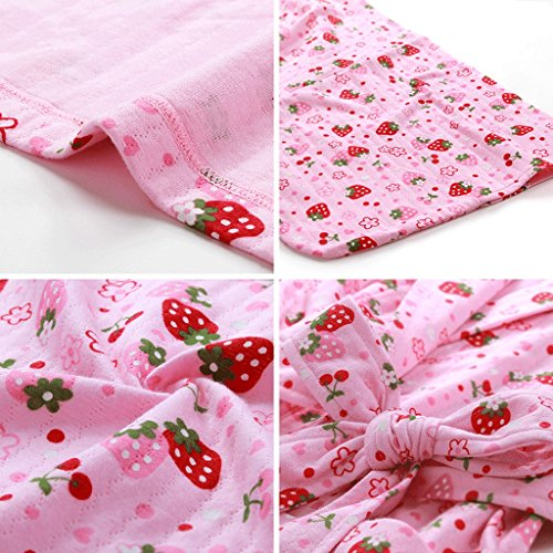 ZLR Pigiama da donna Dolce maglia in puro cotone Sleep Robe a maniche lunghe Sexy Home Abbigliamento Accappatoio ( Colore : A-L ) A-s