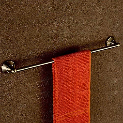 QPLA@Bad-Accessoires Antik antike einzelne Handtuchhalter Handtuch Rod Handtuch Kupferstangen