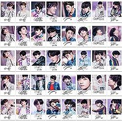 Juego de fotografías de Yovvin, 30 unidades, del grupo K-pop, BTS, Jung-kook, Jimin, V, Suga, Jin, J-Hope, Rap Monster, gran idea de regalo, BTS, 8.9 x 6.3 cm