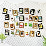 Ecooe photo hanging wall decoration, collage fishing net, photo rope for creative and beautiful decoration, DIY picture frame, wall decoration