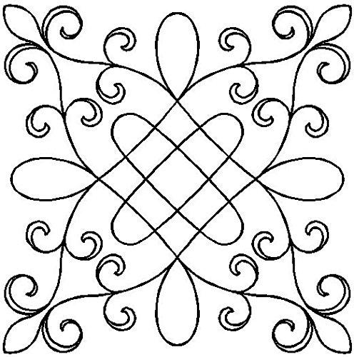 Quilting Creations Garden Gate Quilt Schablone -
